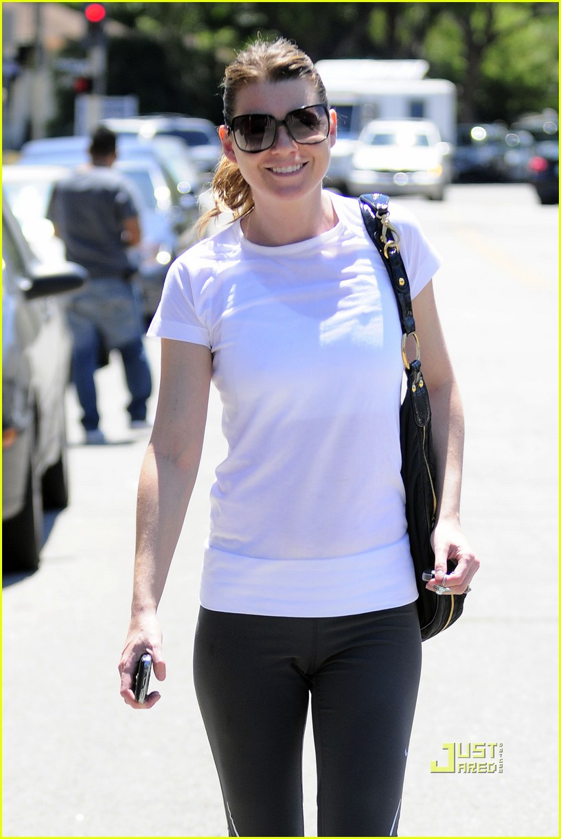ellen pompeo workout errands studio city 20
