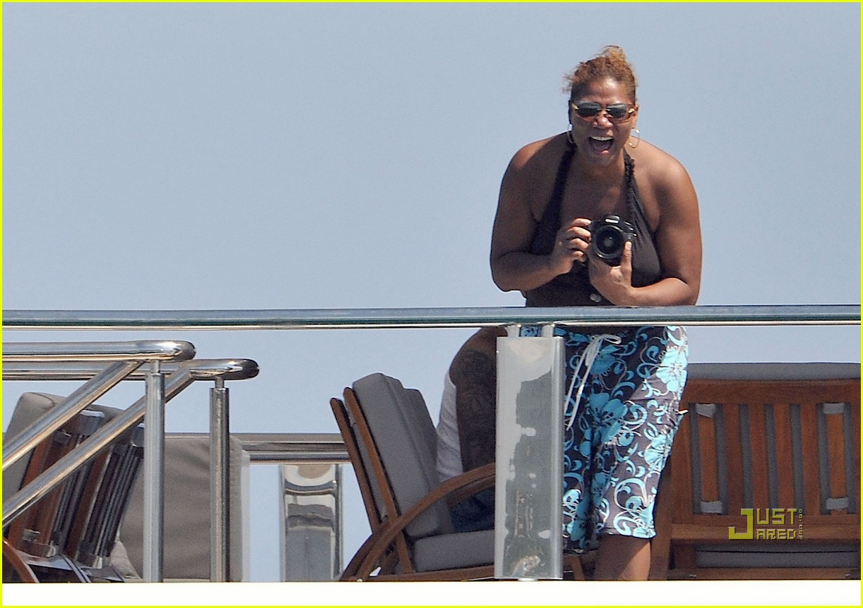 Queen Latifah & Jeanette Jenkins: PDA Pair: Photo 2471801 ...