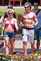 britney spears jason hot pink bikini 03