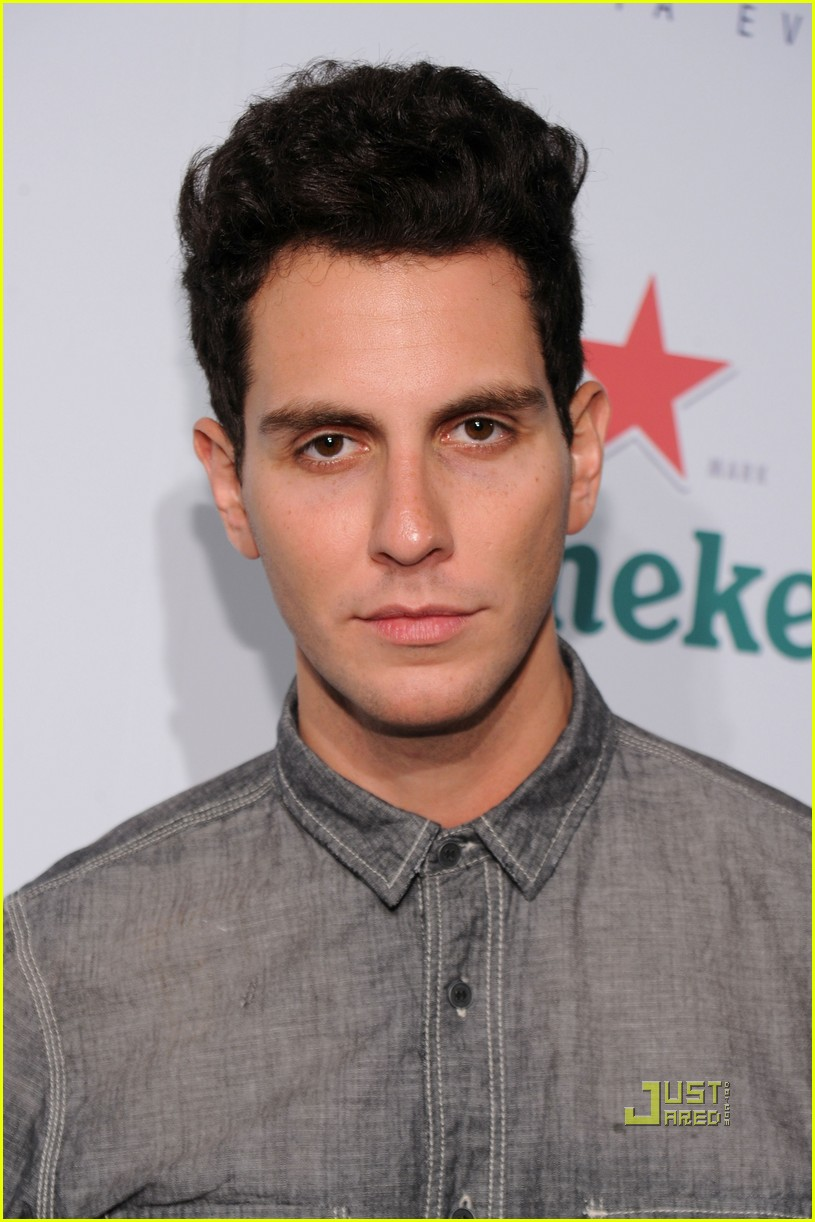 gabe saporta us open player party 08