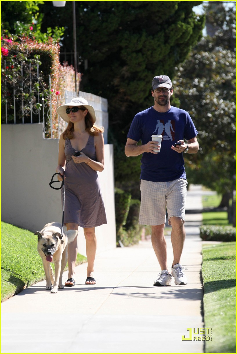 jon hamm jennifer westfeldt walk the dog 072482800