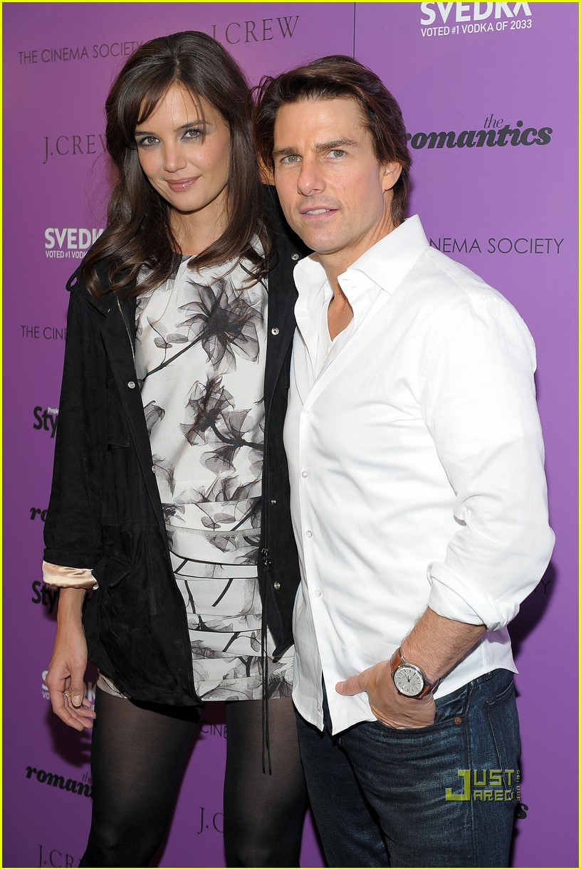 tom cruise katie holmes romantics cinema society nyc 03