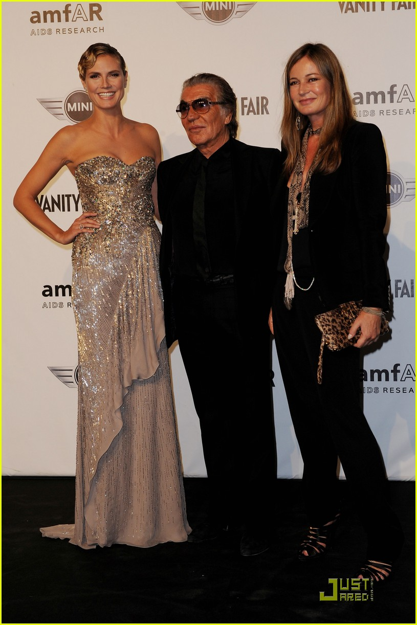 heidi klum amfar milano at milan fashion week 02