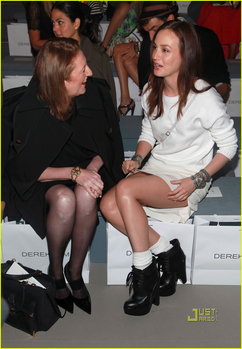 leighton meester derek lam ny fashion week 05