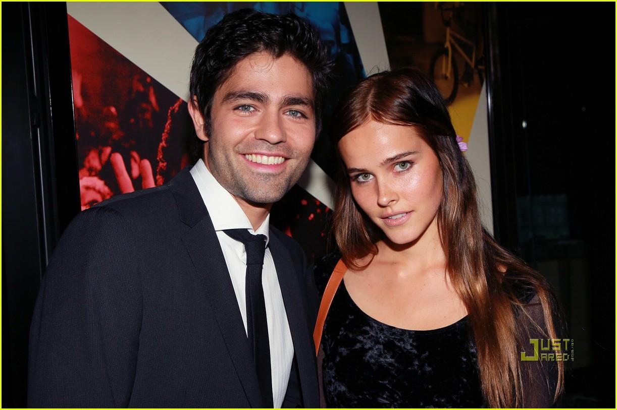 Isabel lucas dating adrian grenier net