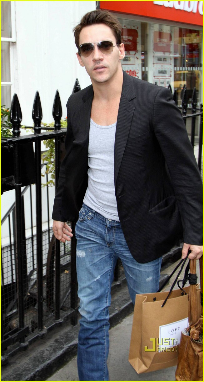 jonathan rhys meyers london shopping spree 022480304