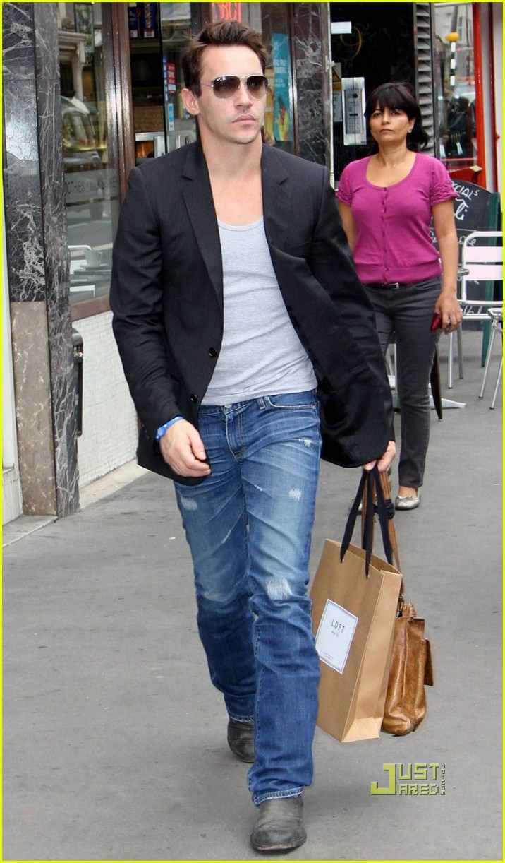 jonathan rhys meyers london shopping spree 072480309