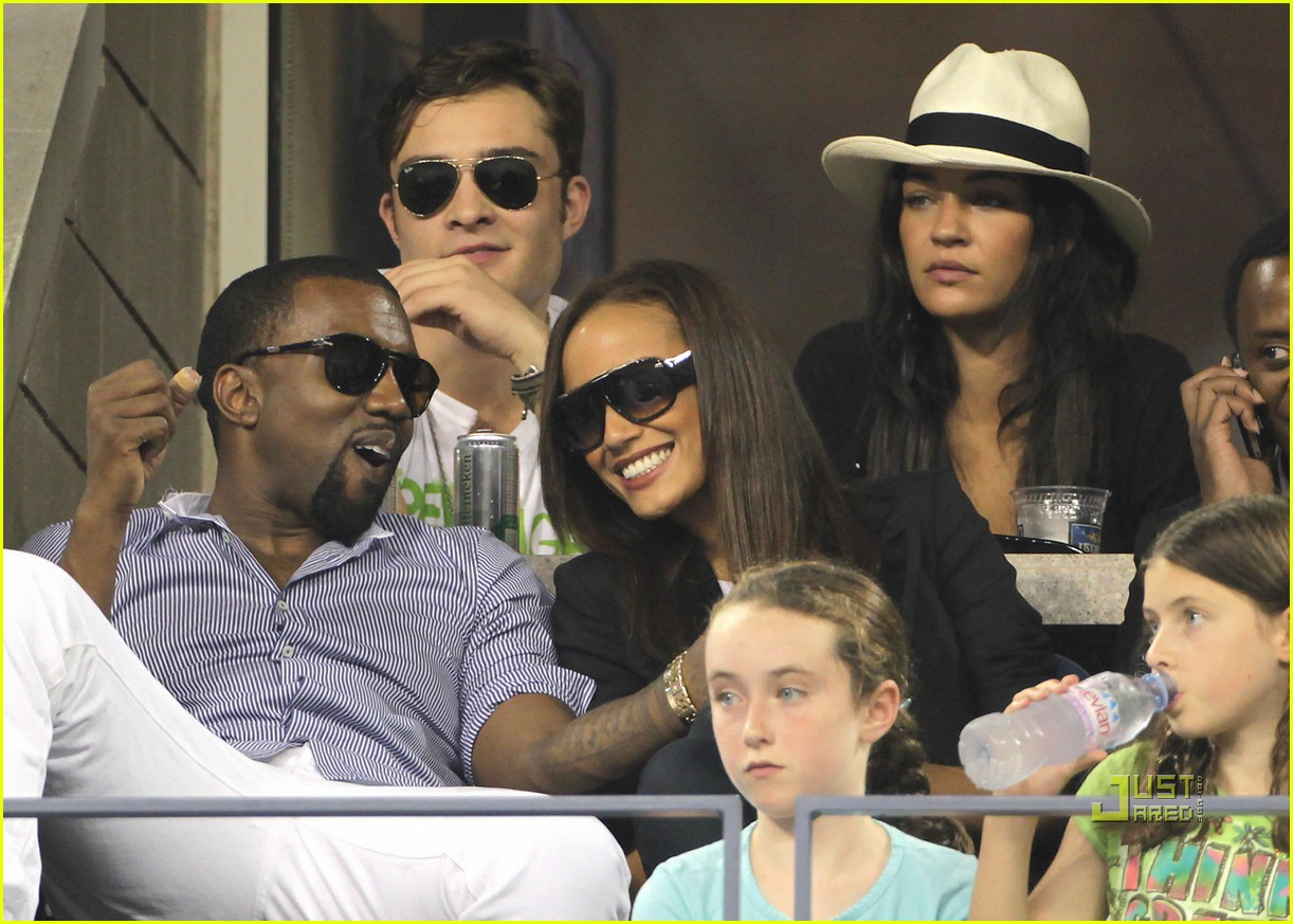 Ed Westwick & Kanye West: Double Date: Photo 2477195 | Ed ...