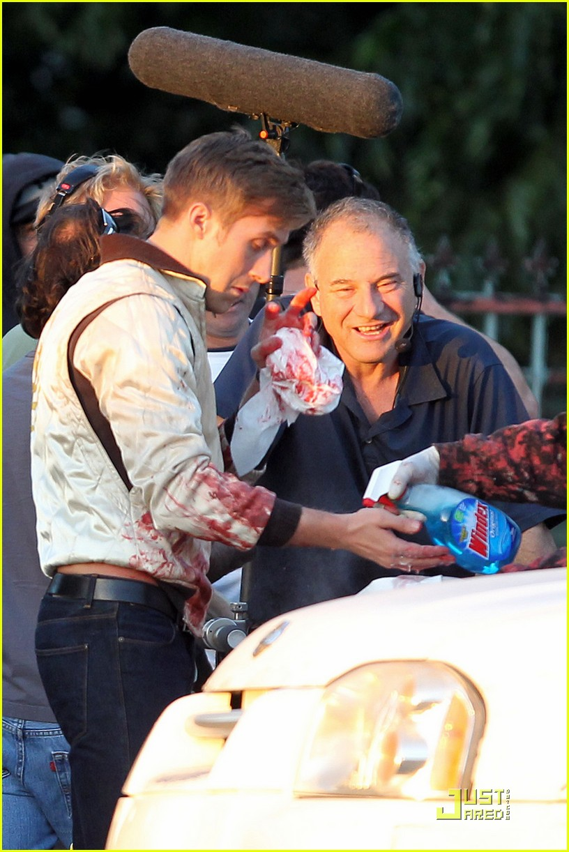 ryan gosling has blood on his hands 01
