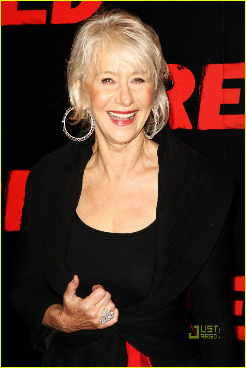 helen mirren bruce willis red uk film premiere 092488885