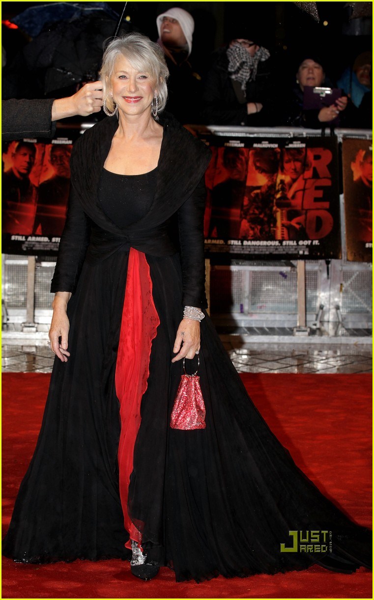 helen mirren bruce willis red uk film premiere 15