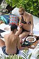 whitney port single shoulder bikini 02