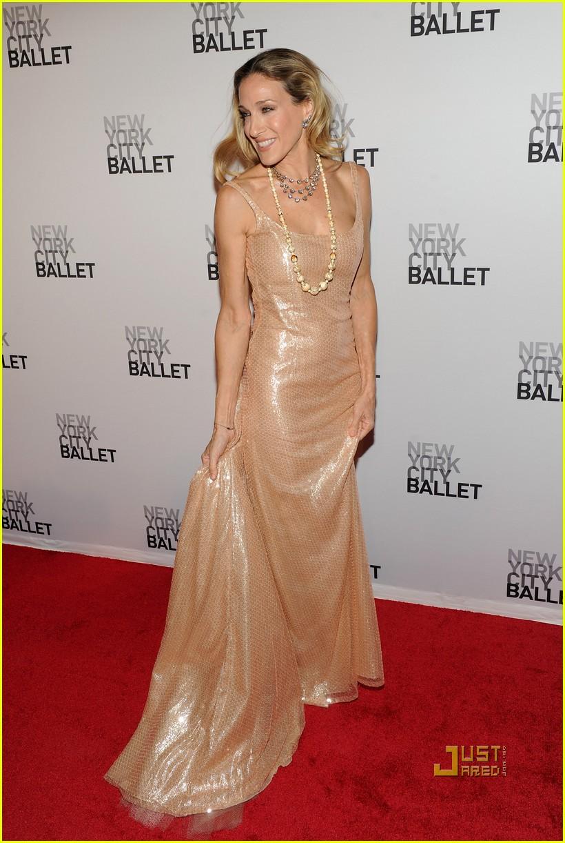 sarah jessica parker new york ballet 012485659
