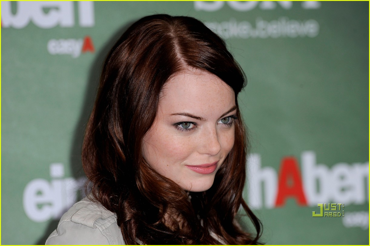 emma stone photocall easy a germany 162490732