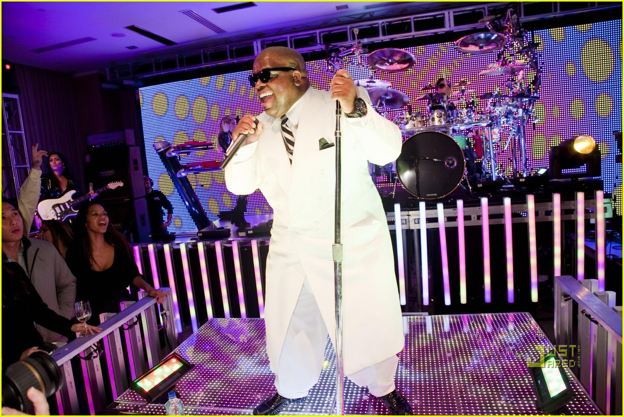 cee lo green lady killer album release concert 01