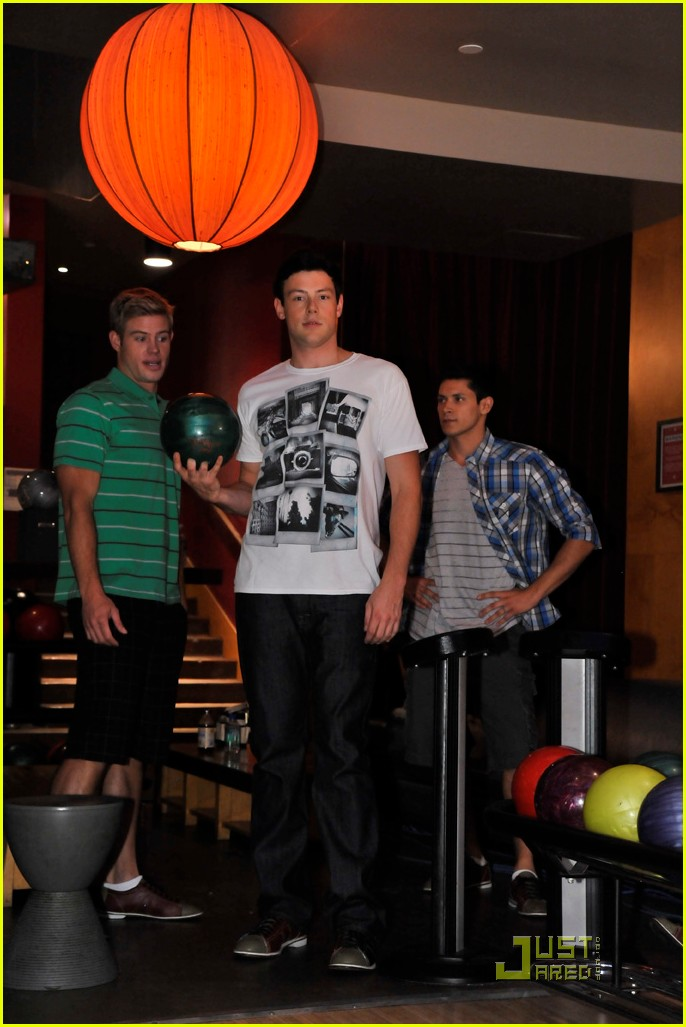 cory monteith bowling 07