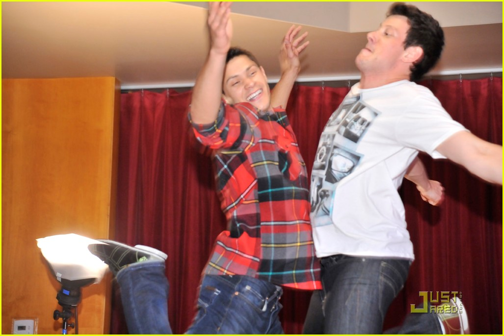 cory monteith bowling 10