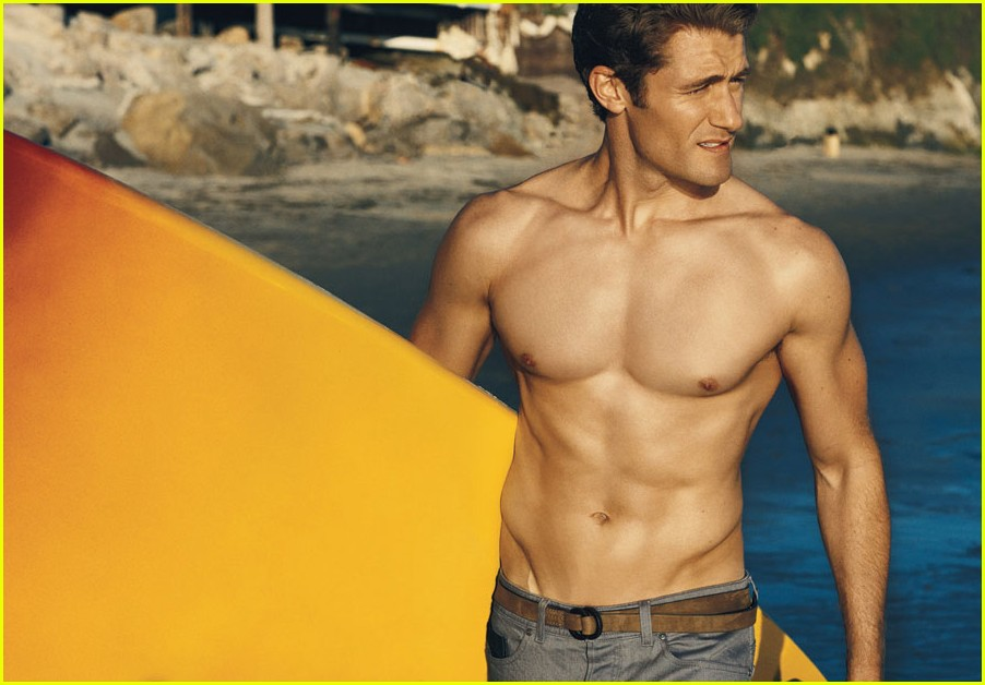 matthew morrison shirtless details cover 03
