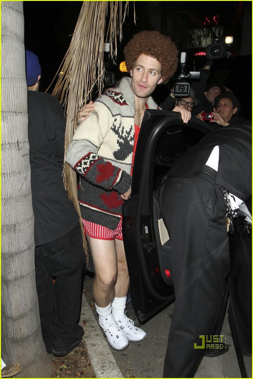 matthew morrison richard simmons costume halloween 05