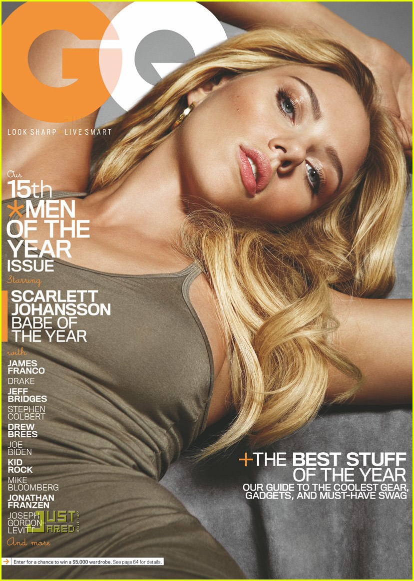 Scarlett Johansson Covers 'GQ' December 2010: Photo ...