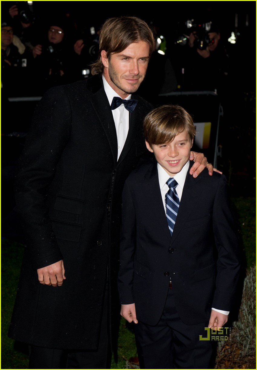 david beckham brooklyn sun military awards 07