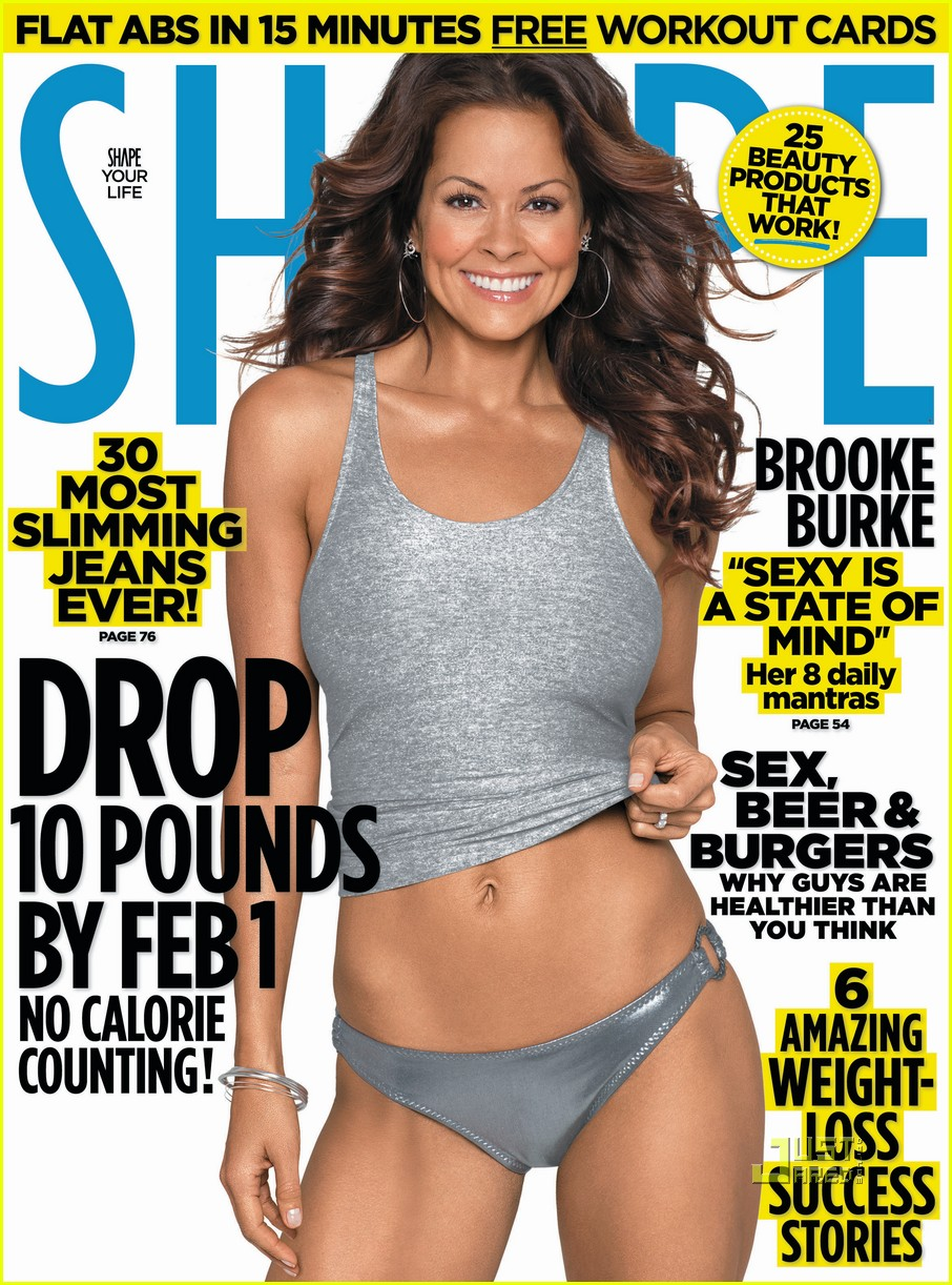 brooke burke shape magazine january 2011 01