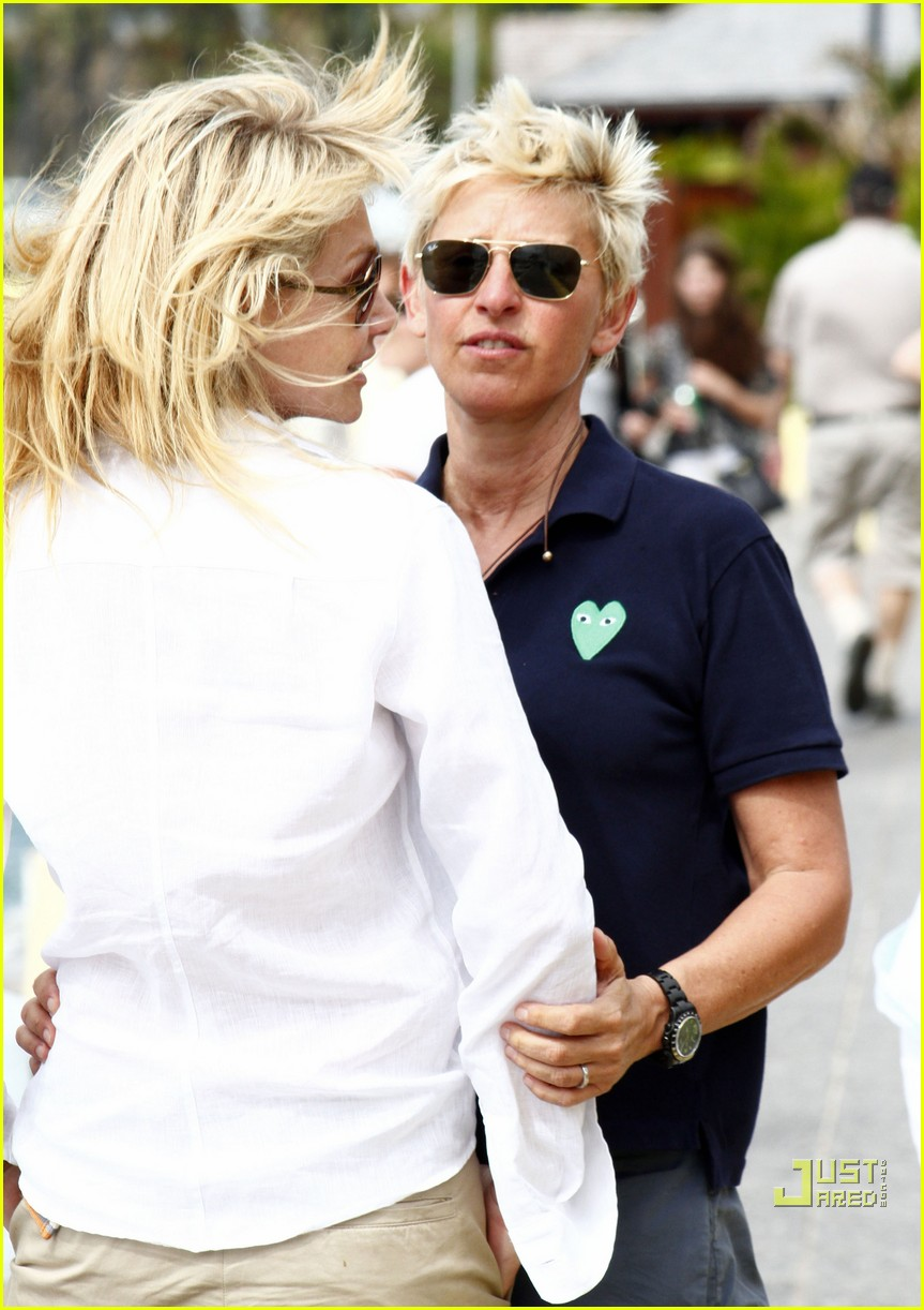 ellen degeneres portia de rossi happy together 022507236