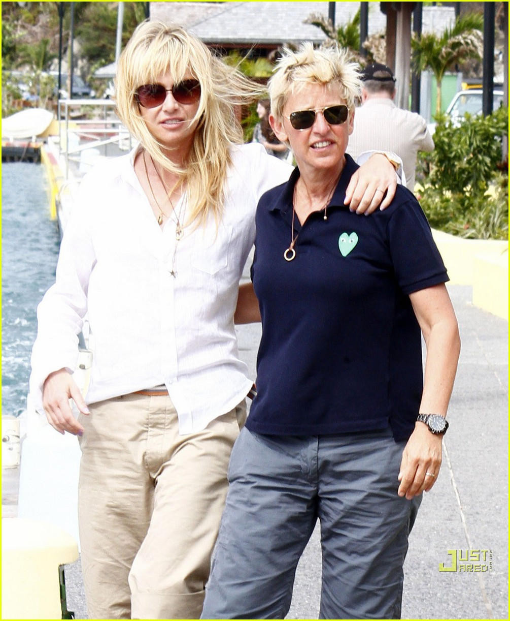 ellen degeneres portia de rossi happy together 05