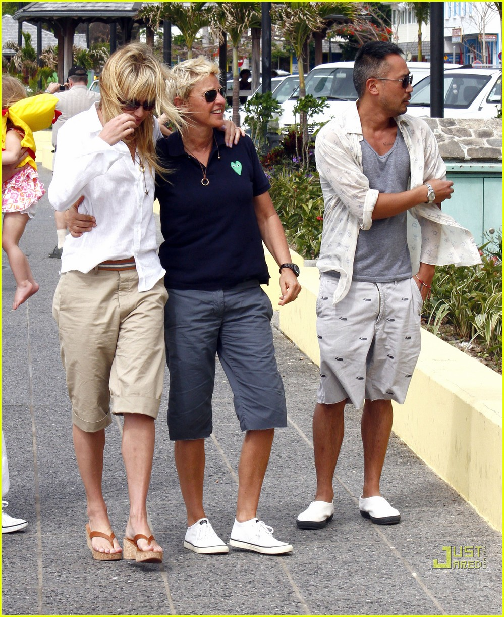 ellen degeneres portia de rossi happy together 112507245