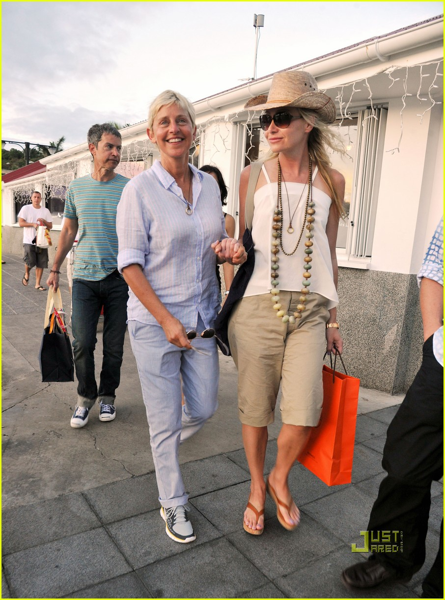 ellen degeneres portia de rossi hermes 12