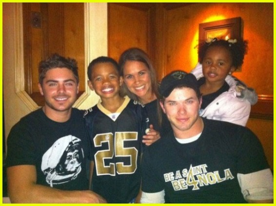 kellan lutz zac efron saints game2503380
