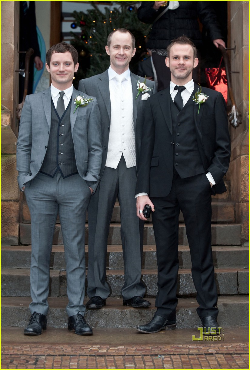 elijah wood dominic monaghan billy boyd wedding 092506994