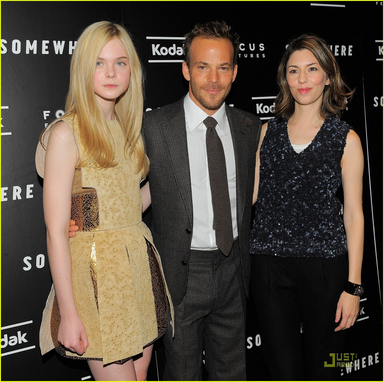 elle fanning somewhere nyc premiere 062503130