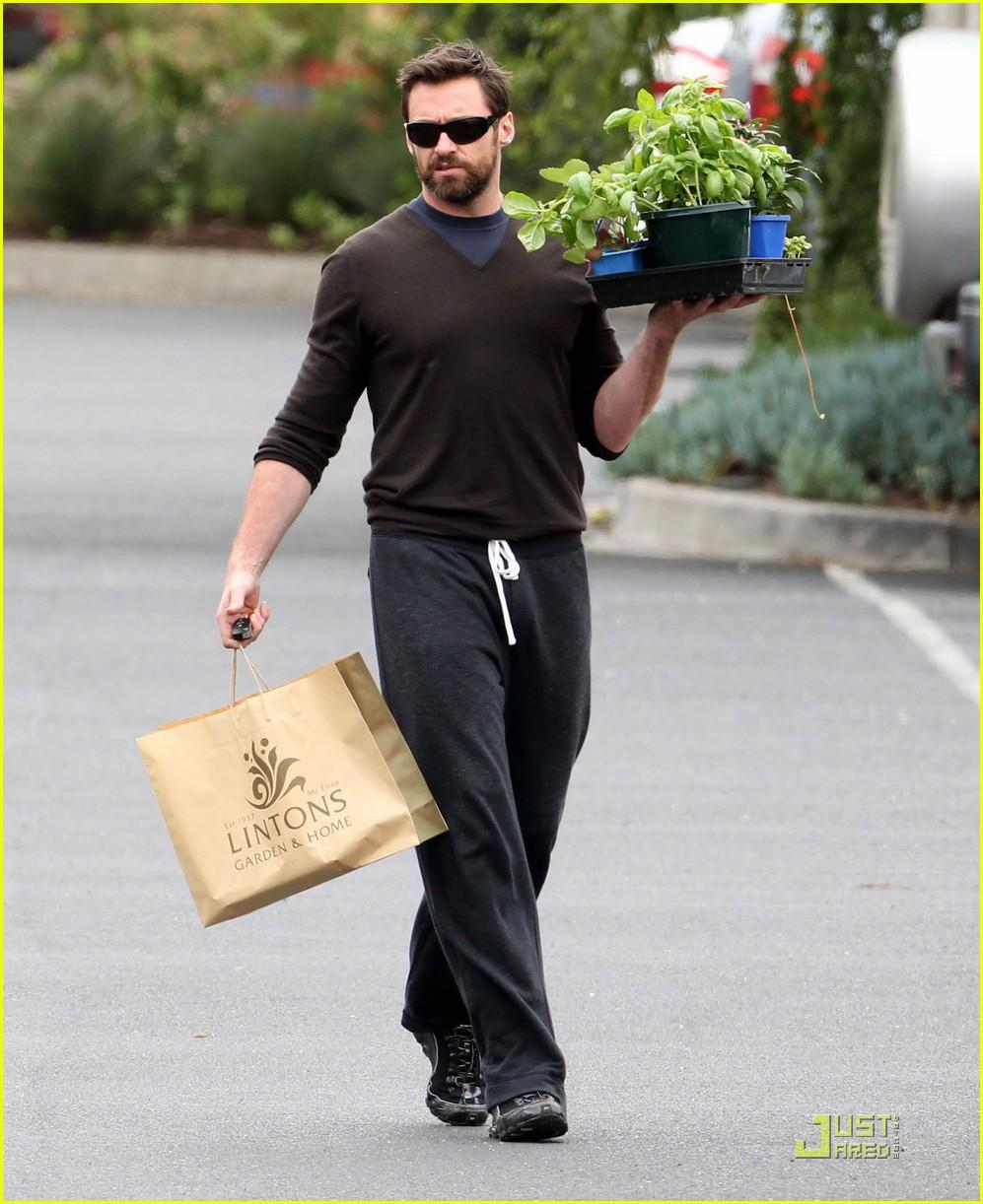 Elegant Hugh Jackman: Scruffy Garden Guy: Photo 2505161 | Ava Jackman, Celebrity  Babies, Deborra Lee Furness, Hugh Jackman, Oscar Jackman Pictures | Just  Jared