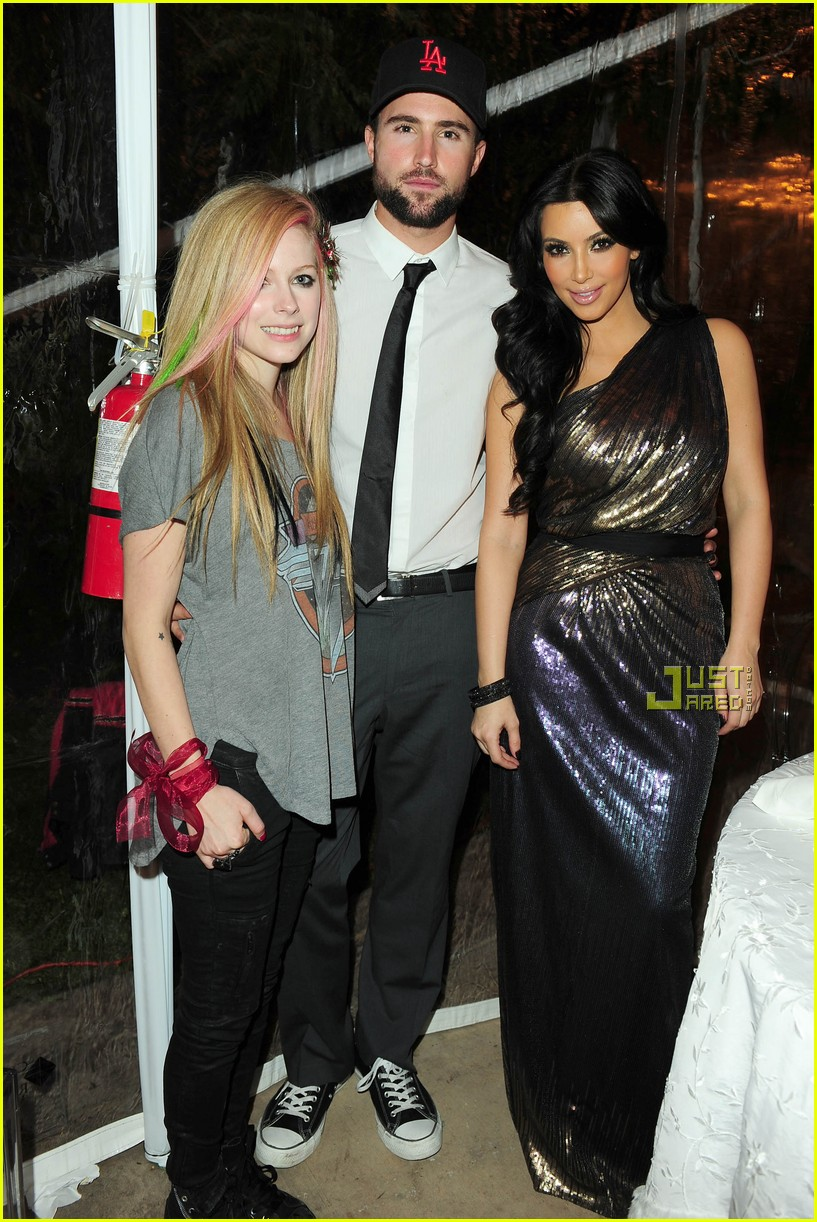 brody jenner avril lavigne christmas kim kardashian 03
