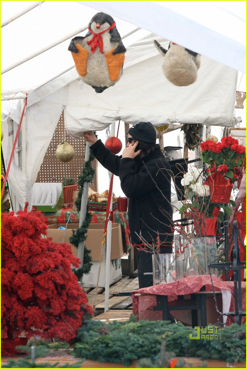 keanu reeves christmas tree shopping 042506373
