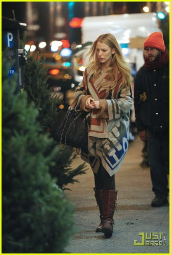 Full Sized Photo of blake lively christmas tree 11