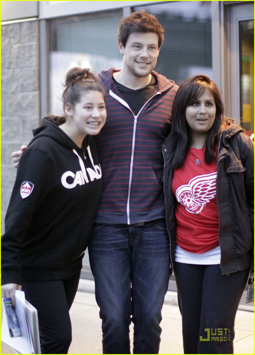 cory monteith fan friendly canuck 08