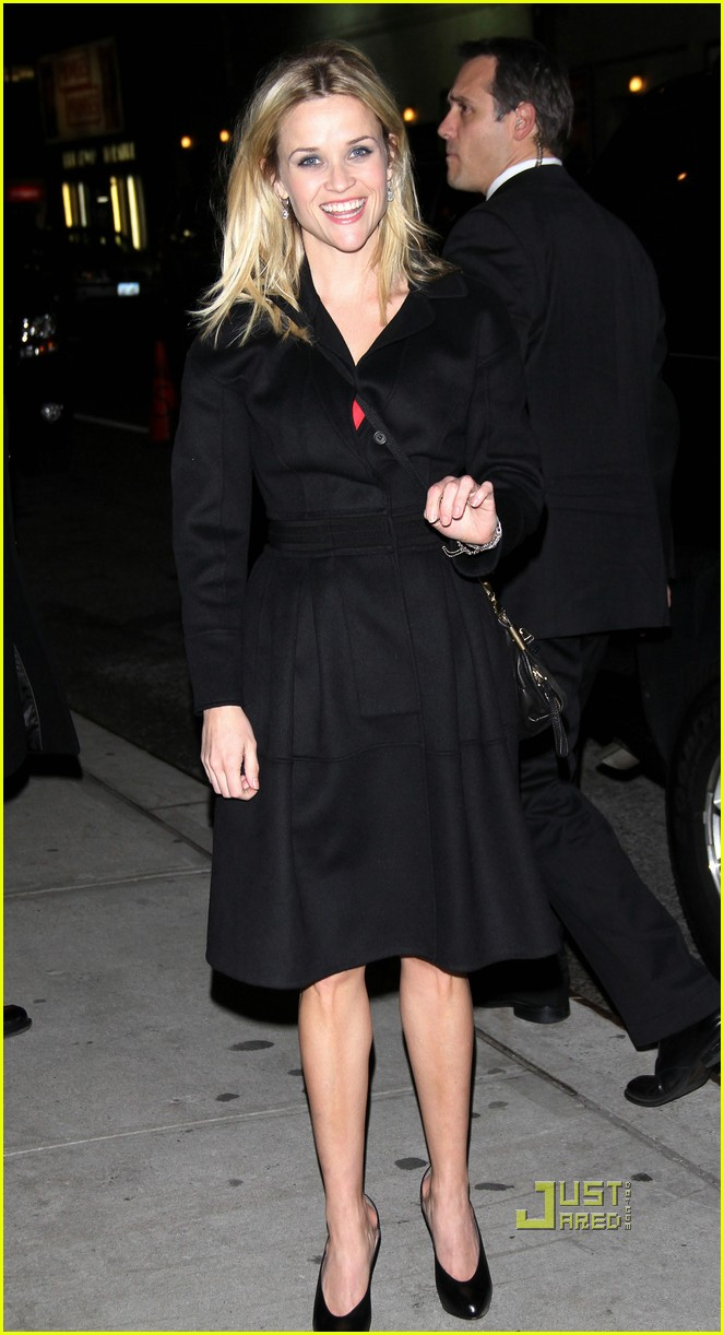 reese witherspoon late show david letterman 07