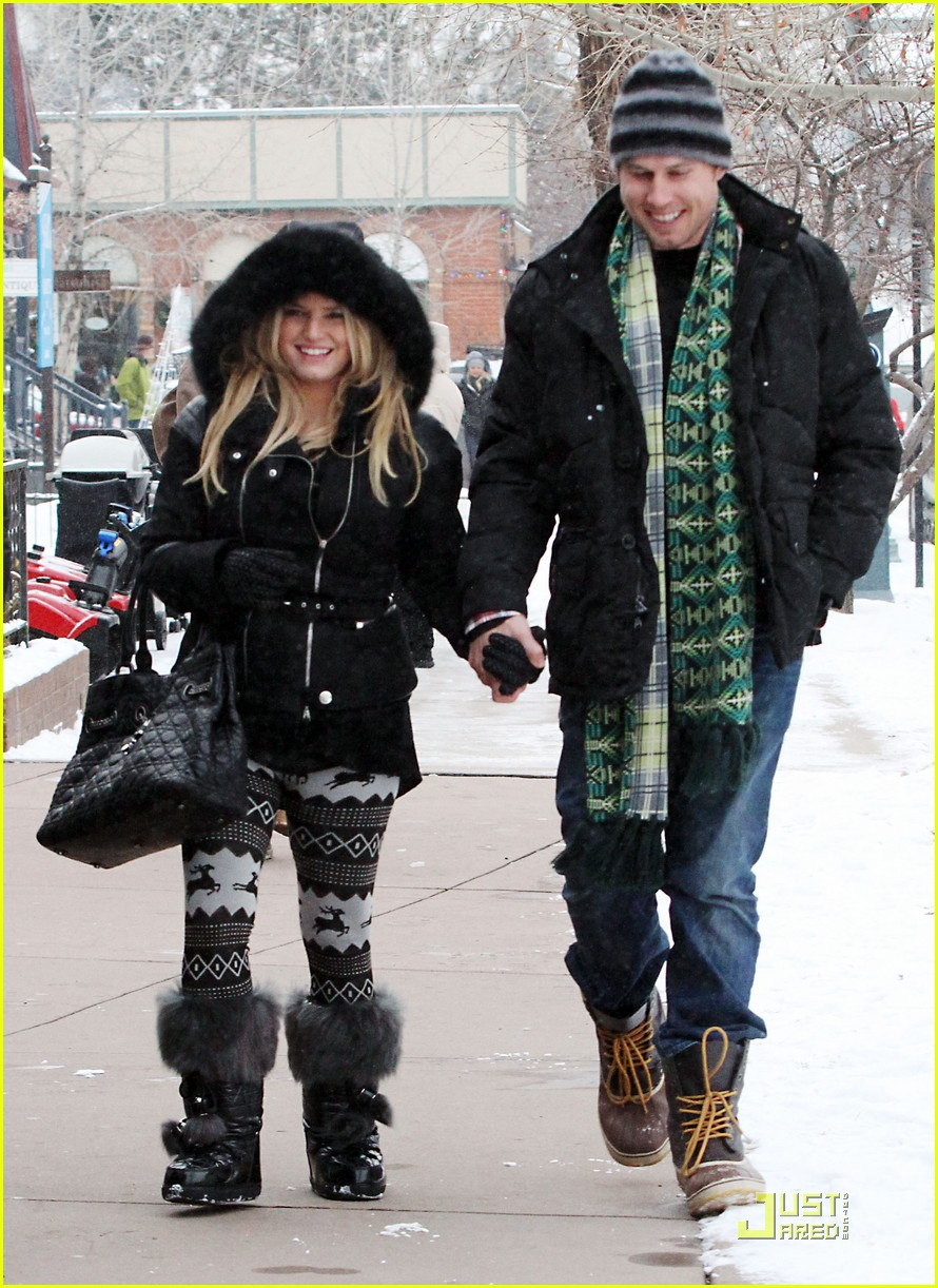 jessica simpson eric johnson snow 04