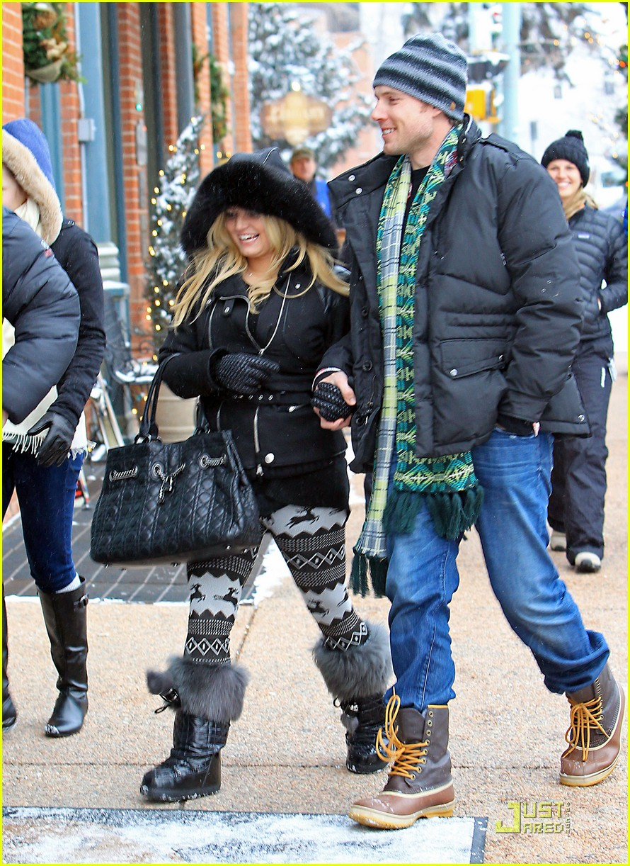 jessica simpson eric johnson snow 05