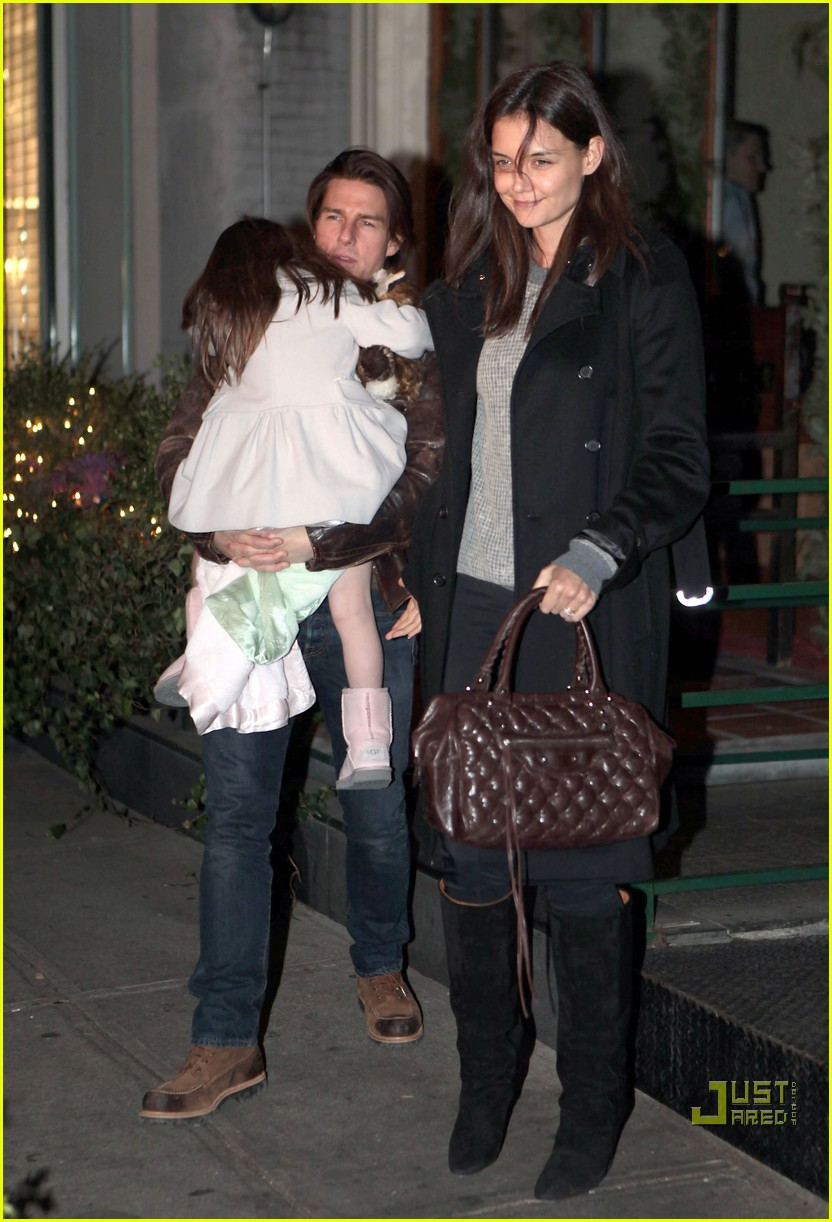 katie holmes tom cruise suri night out 03