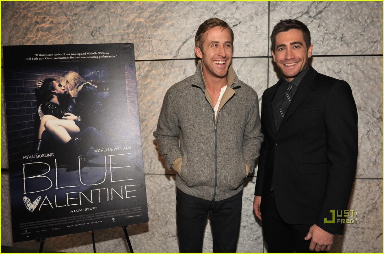 Jake Gyllenhaal   Blue Valentine  Screening with Michelle Williams Jake Gyllenhaal And Michelle Williams