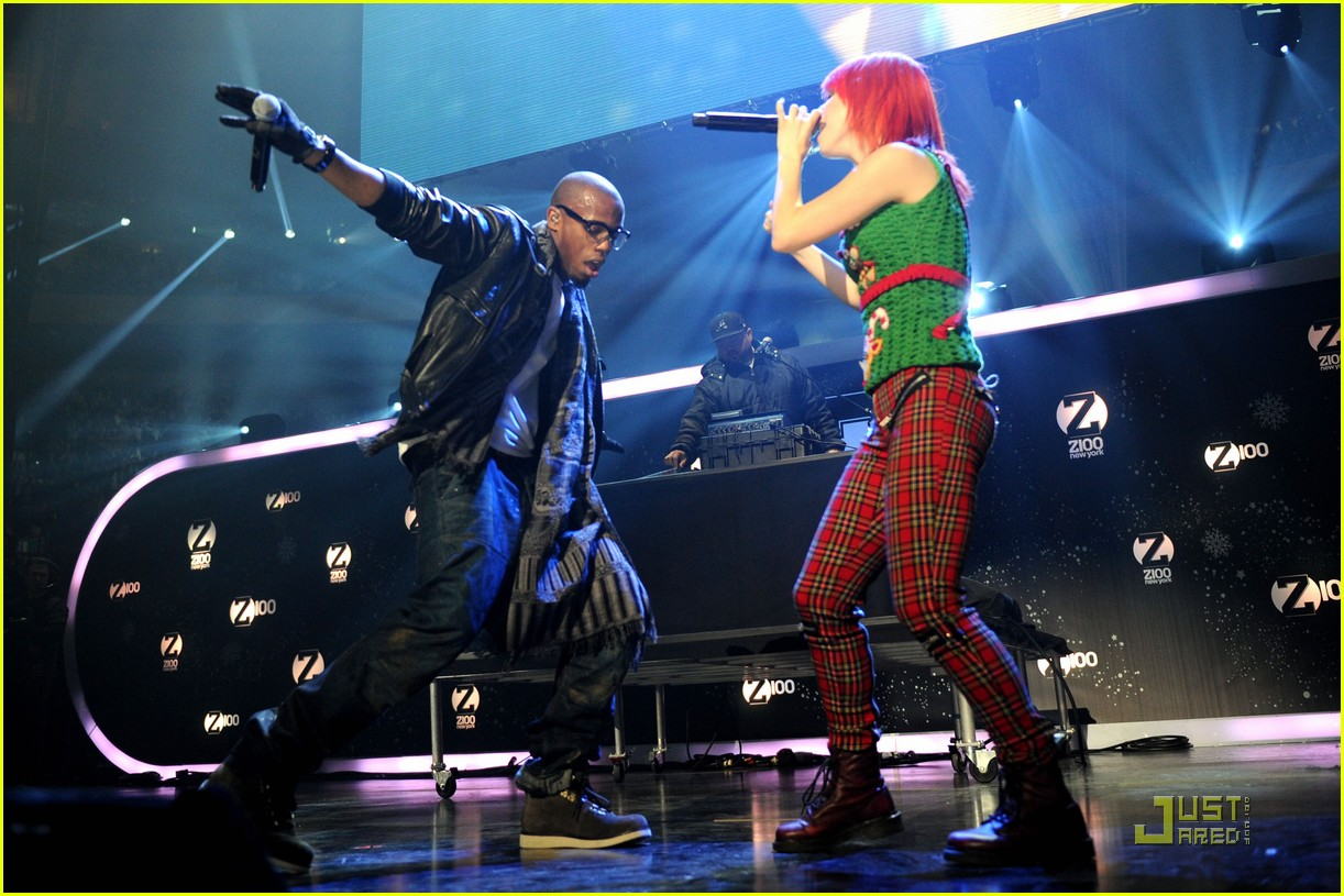 hayley williams z100 jingle ball 022502608
