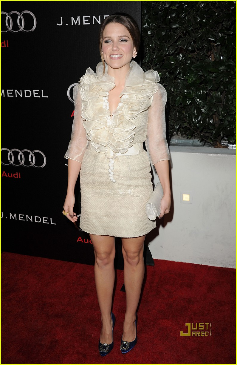 sophia bush audi jmendel party 02