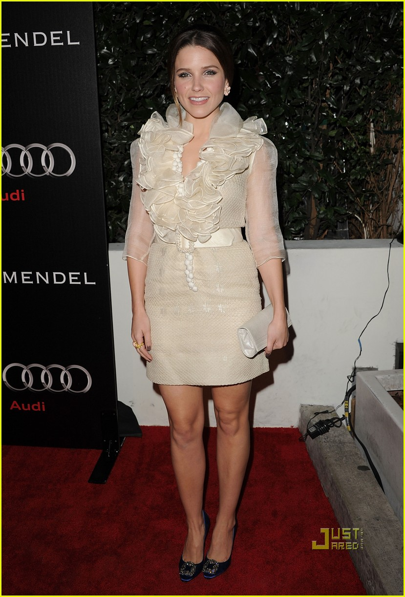sophia bush audi jmendel party 08