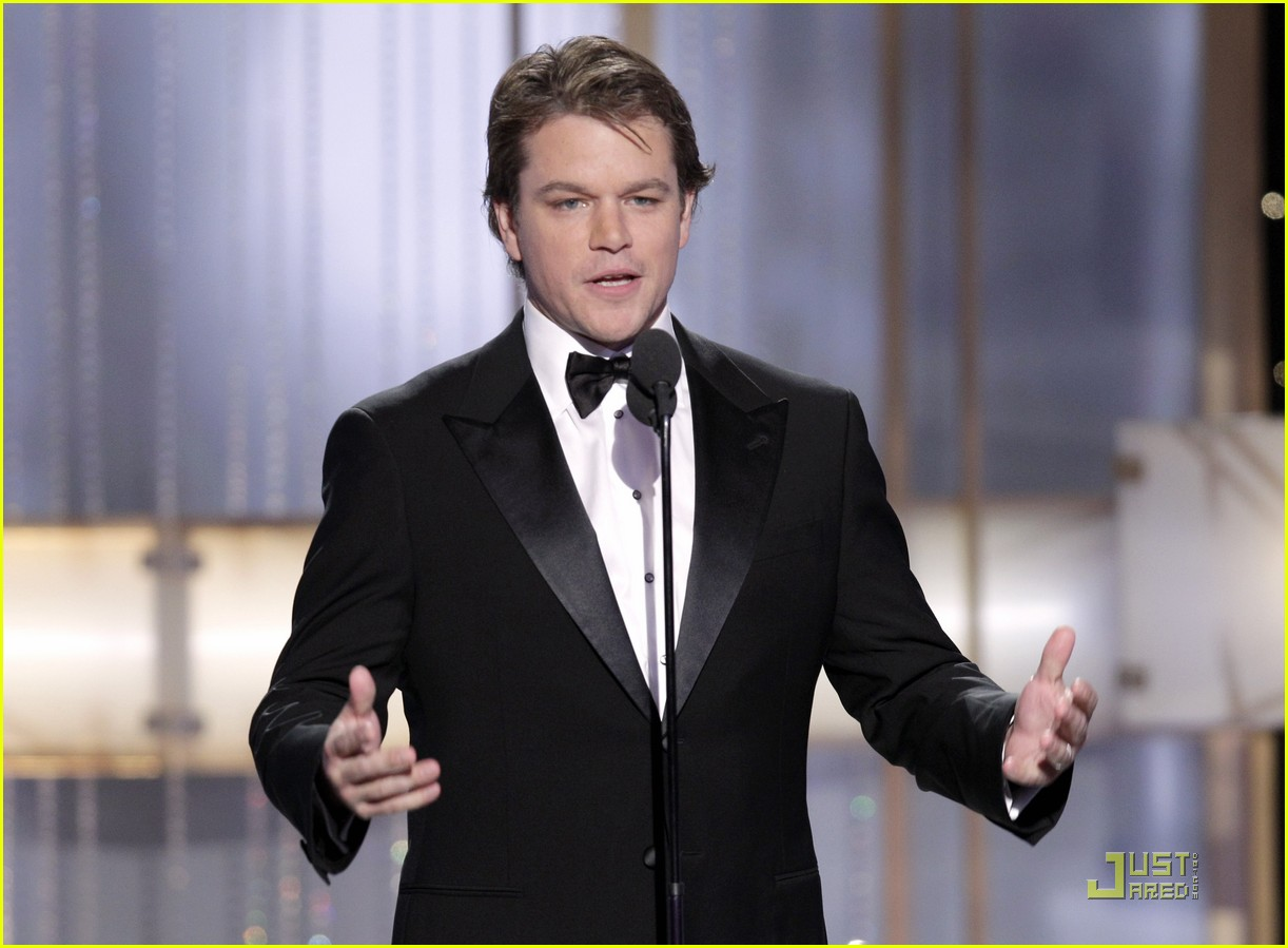 matt damon robert de niro golden globes 13