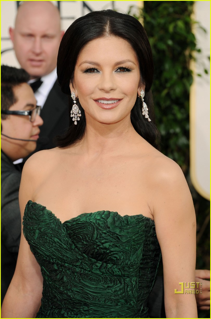 michael douglas catherine zeta jones golden globes 2011 15