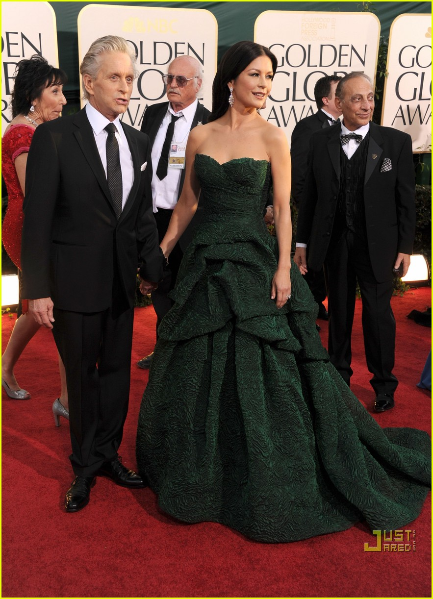 michael douglas catherine zeta jones golden globes 2011 19