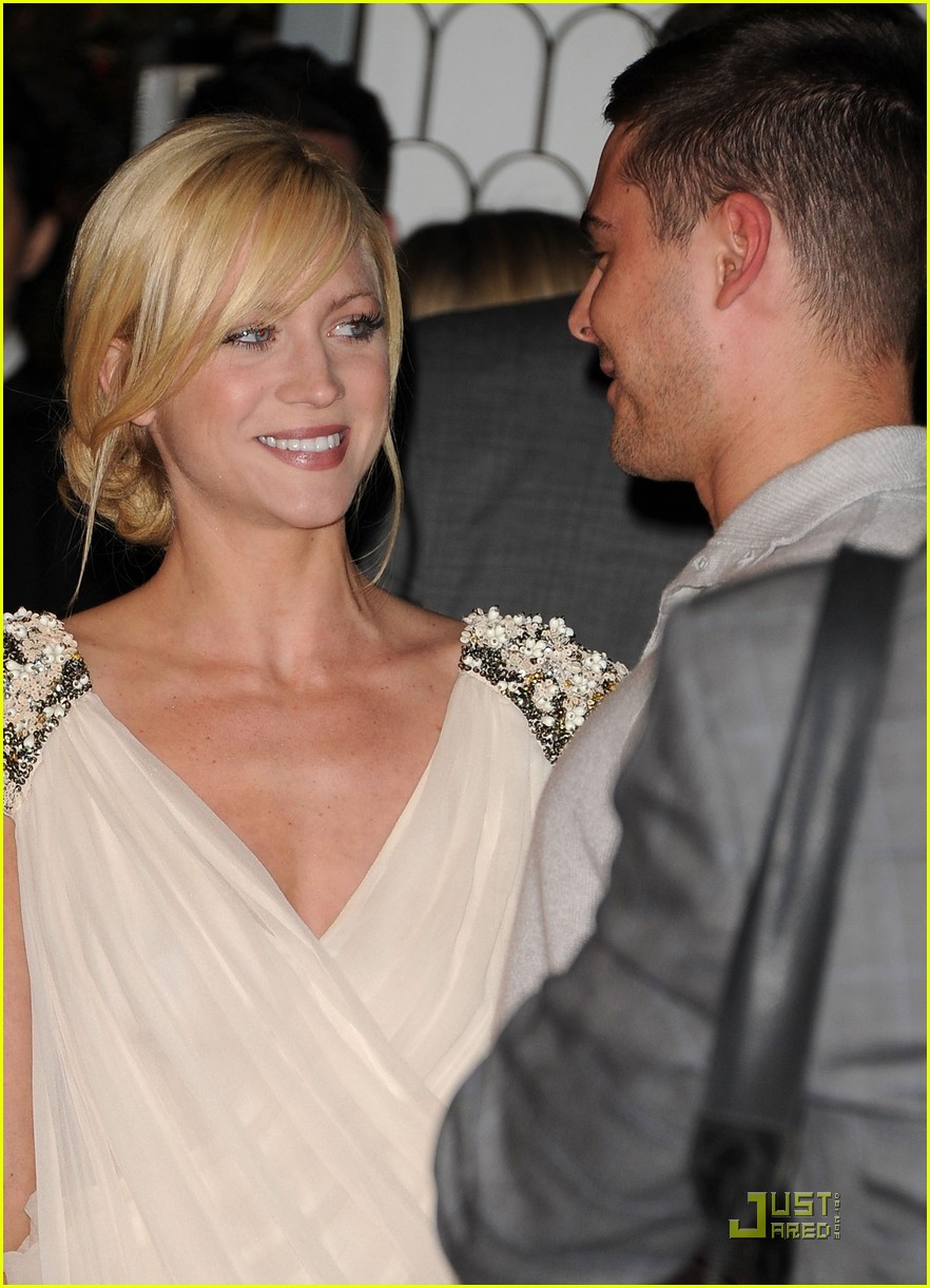 zac efron brittany snow audi golden globe party 092509662